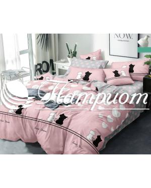 КПБ 1.5 спальный, поплин 1755